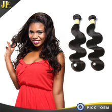 2015 JP real tangle and shedding free real virgin wet and curly hair extension