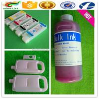 Wholesale price!! inkjet ink for canon IPF 600/610pigment ink 8 color inkjet printer pigment ink