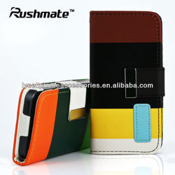 For iphone 5G Case New Amazing Leather Skin Case