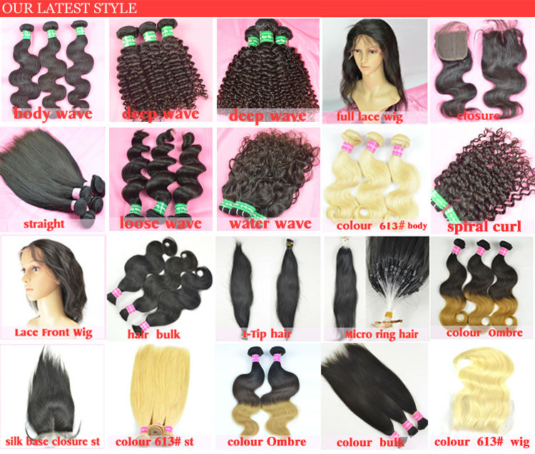 100 Diamond Virgin Human Hair Of Different Types And Textures Human