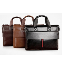 2015 Wholesale Best sale business leather tote bags laptop bag briefcase for men