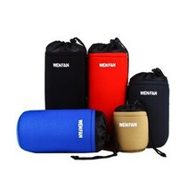 2015 colorful camera bag lens tube sleeves protective pouch