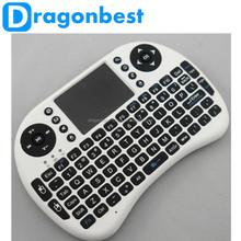 Air mouse 2.4GHZ i8 rii mini keyboard for smart tv box Google TV Box