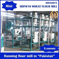 Hot-selling 10t wheat mill for best quality flour semolina