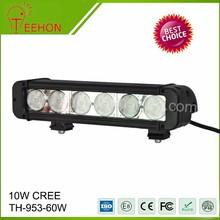 """11"""" 60W LED bar light,4X4,Off road,heavy duty led light bar tractor,UTV,ATV,Boat,led light bars"""