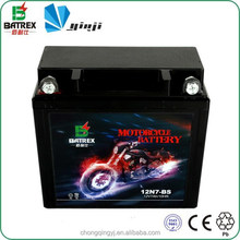 Motorcycle Parts Vrla Battery 7ah 12v Rechargeable Battery For Motorcycle