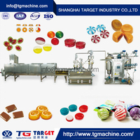 Industrial High Output plc controlled hard candy depositing line