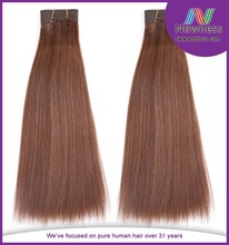 Grade 8a raw virgin natural darling double drawn 27 color cambodian hair extension