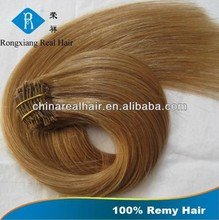 Wholesale Double Drawn Hair 100% Remy Human Hair clip in hair extensions for children