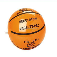 street sports inflatable basket ball model with logo printing