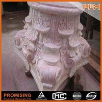 All kinds Top grade natural stone big garden lighting column