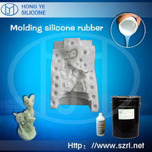 addition cure silicone rubber for concrete product mold making
