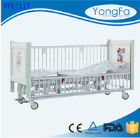Electrophoresis treatment High Quality Simple Epoxy Coating Semi-fowler plastic bed for children
