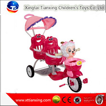 Wholesale high quality best price hot sale child tricycle/kids tricycle/baby tricycle double tricycles for children