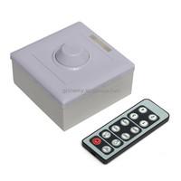 Newest Infrared 12-Key Triac Dimmer 12V Knob PWM 0-10V Triac LED Dimmer Switch for E27 GU10 Dimmable Bulb/Spotlight/ Downlights
