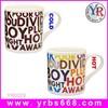 11oz High Quality Color Changing Bone China Mug For Custom Alphabets Artwork Design