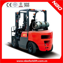 NBO 2 ton lpg fork lift for sale, gas forklift for sale