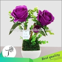 wedding decoration centerpieces plum colored artificial flowersplum colored artificial flowers rose