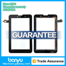 Good quality display digitizer glass panel for lenovo a3000 touch screen