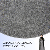 High-class luxurious upmarket use wool cashmere blend fabric, long and soft fabric for high quality winter coats