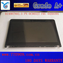 2015 Best sale Laptop LCD Touch Screen B140RTN02.3 FRU 04X4193 04X4195 HD+ AG for E440 S440 L440 T431S T440S T430