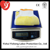 7 gauge white pvc dotted cotton midas western safety gloves