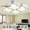 CE/UL ROHS Luxury modern square acrylic led ceiling lights 96w