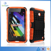 Dual TPU&PC 2 in 1 armor kickstand hybrid case For Nokia lumia 630 skid resistance Cover