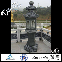 Outdoor carving life size stone lantern