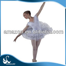 Dance costumes supplier Top selling Fitting Classical women white swan tutu costume