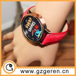 women genuine leather vintage watches fashion watch colorful watches cheap