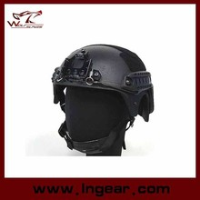 Alibaba Wholesale IBH Helmet With NVG Mount & Side Rail Action Version Tactical Helmet