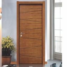 modern concise wood interior door
