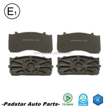 Auto parts dubai European Volvo truck spare parts brake pad WVA29148 used toyota hiace bus