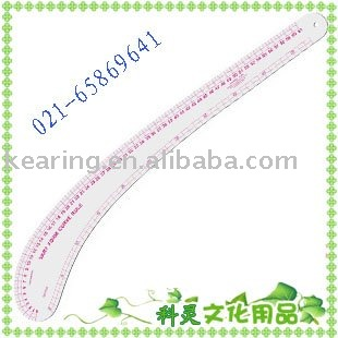 Costura francesa curva gobernante variar forma curva 61 cm