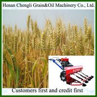 2015 best quality mini harvester/price of rice harvester