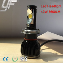 YF new product 2015 car led head light smart round motorcycles head light H4