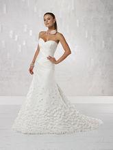 elegantes apliques de flores sin mangas sexy fotos de corte bajo de hermosos vestidos de novia