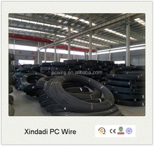 5mm 1670MPa top quality building material, prestressed concrete wire