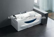 la bañera de acrílico bañera de hidromasaje caliente bañera de hidromasaje masaje tina de agua rectángulo de la tina de baño