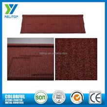 Stone custom al-zinc coat camouflage decorative roof shingles