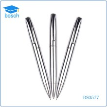 Stationery Factory decorative ballpoint pens promotional gift pen silver metal pen