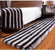 Top quality dyed color wholesale prices chinchilla fur rex rabbit fur blanket