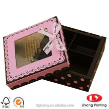 custom paper chocolate Packaging Box with competitive price made in china