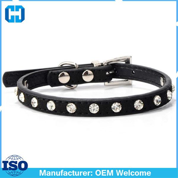 Puppy-Dogs-Collar-Bell-Rhinestone-PU-Leather-Cat-Supply-Collars-Pet-Neck-Strap (1)
