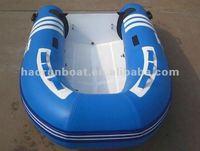 2.7meters-3.3meters PVC/Hyplon matrial fiberglass inflatable boat