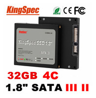 "KingSpec 1.8"" Size and Laptop Application hard drive SATA III SSD for gaming machine use sata ssd 32gb"