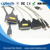 Utech USB 2.0 To DB25 IEEE-1284 Parallel Printer Cable Adapter 1.8m