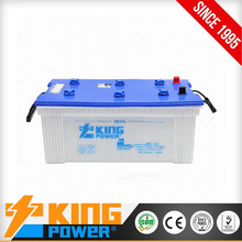 12V Japan Car battery N180 180AH dry charged car batteries