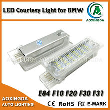 Error free white 4 pins LED courtesy light for BMW F20 F30 F01N F02N E84